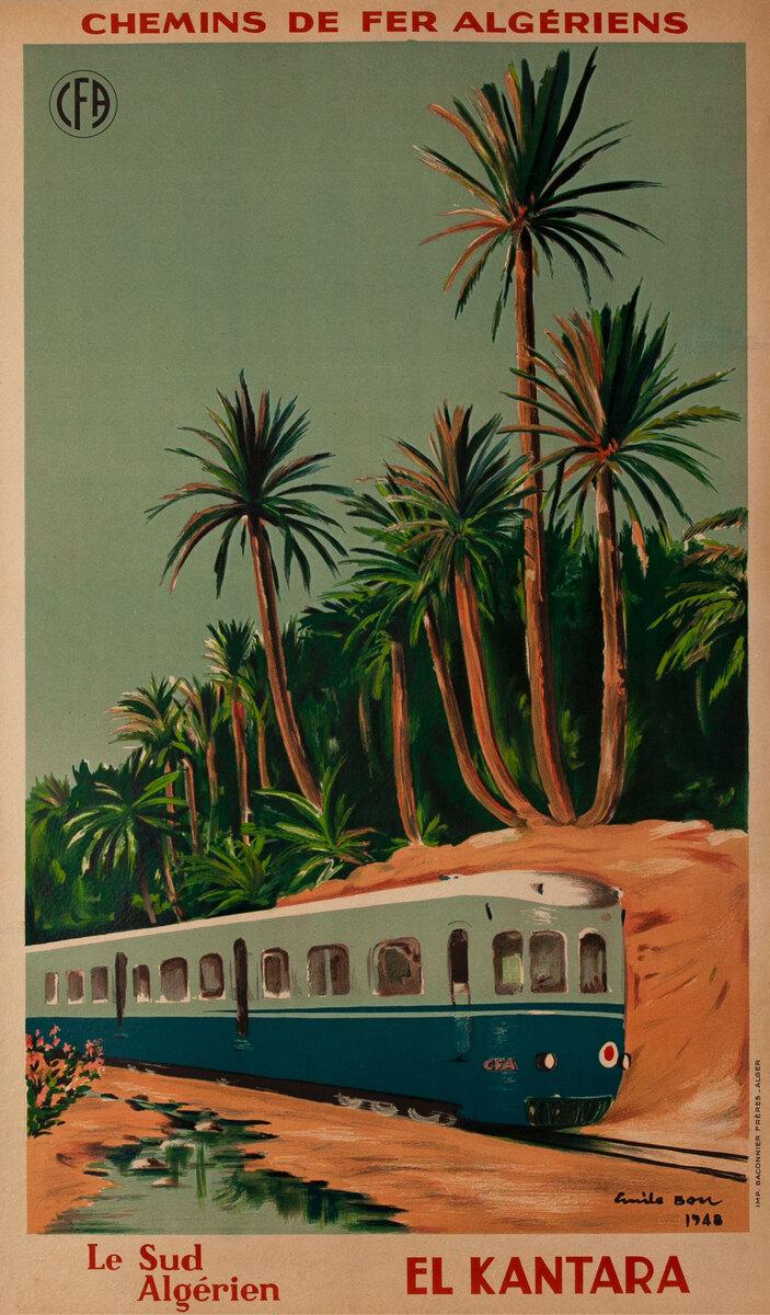 Chemin de fer Algériens, Sud Algerien El Kantara