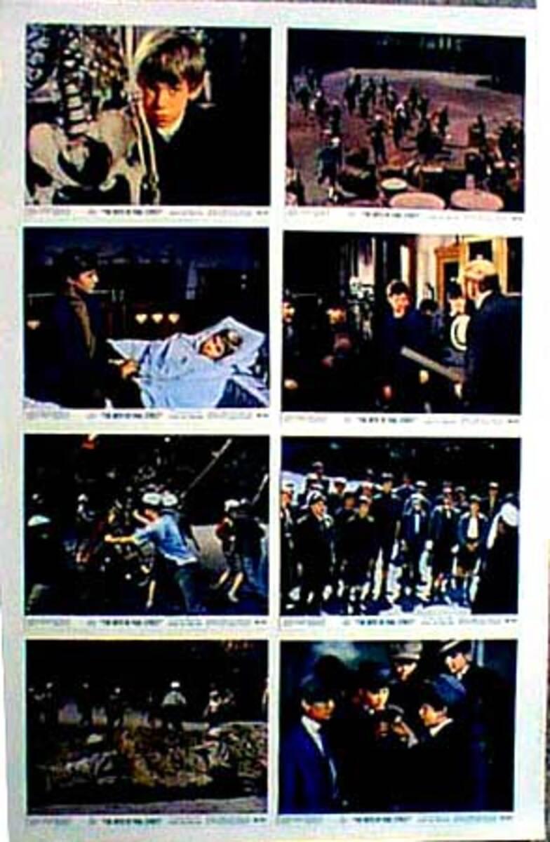 Original 8 x 10  Movie Lobby Card Set The Boys of Pauls Street (Hungarian title (A Pal Utcai Fiuk)