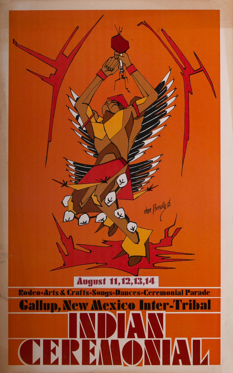 Gallup New Mexico, Inter-Tribal Indian Ceremonial Poster