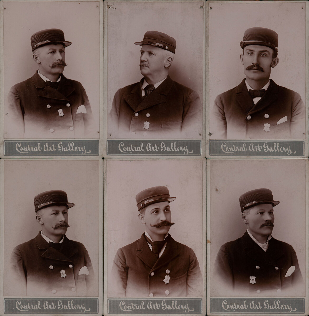 Galion Ohio Fire Department Cabinet Cards