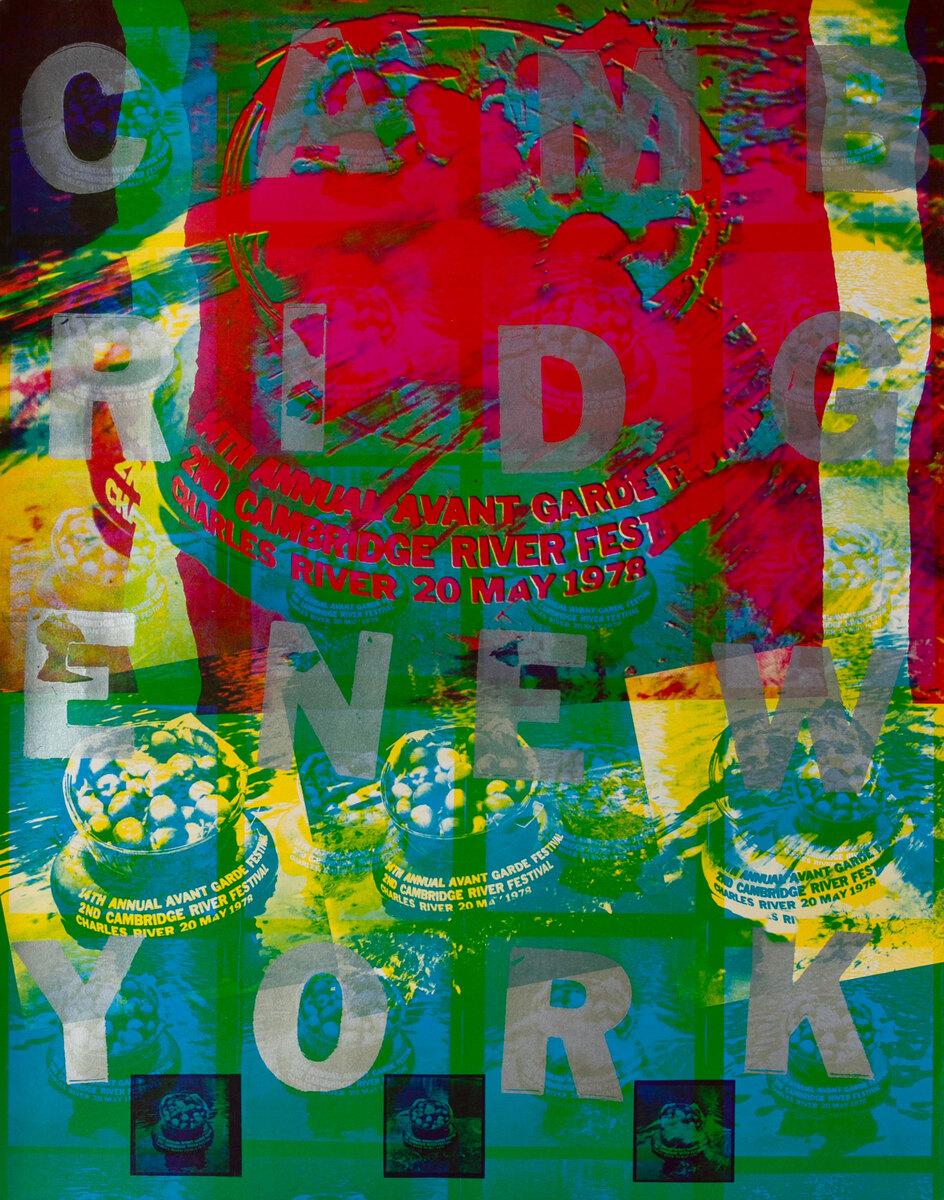 14th Annual Avant Garde Festival of New York and 2nd Cambridge River Festival