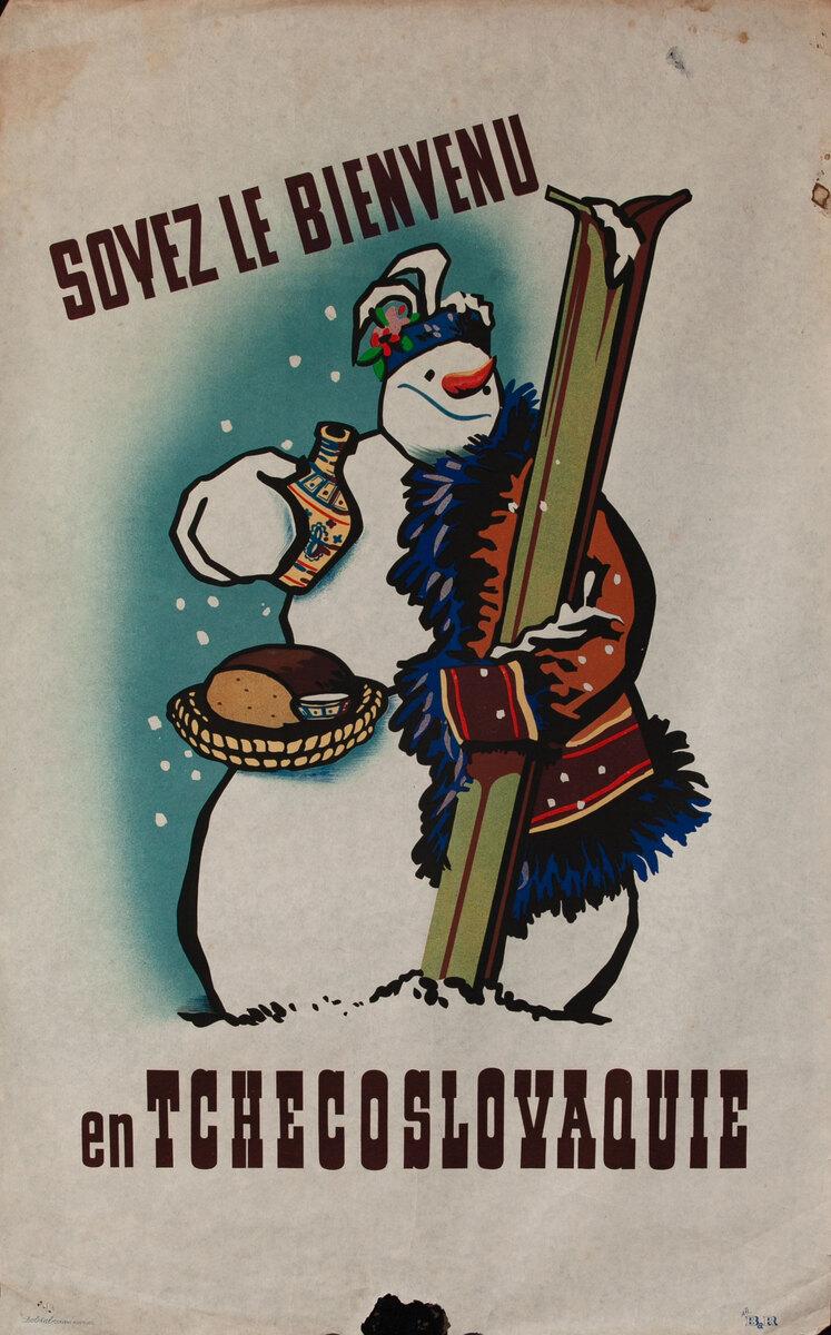 Sovez le Bienvenu en Tchecoslovaquie - Welcome to Czechoslovakia