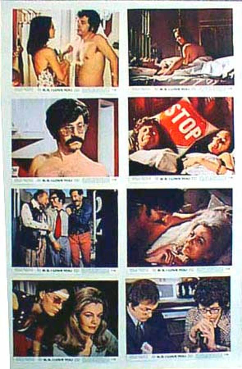 Original 8 x 10  Movie Lobby Card Set  B.S. I Love You