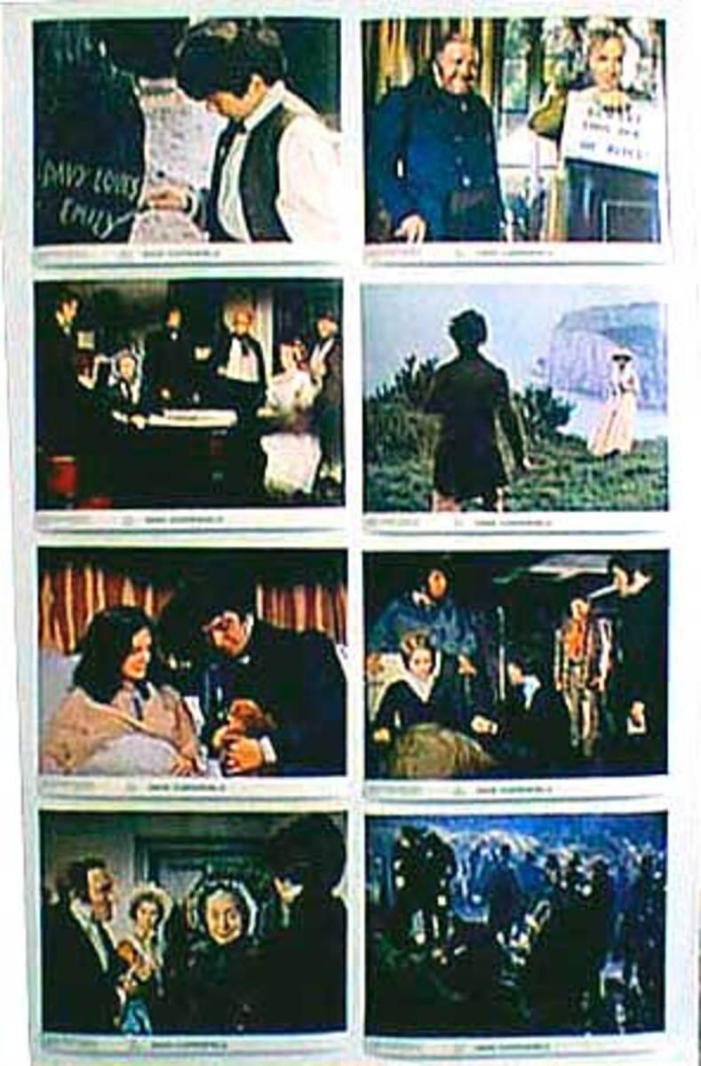 Original 8 x 10  Movie Lobby Card Set David Copperfield