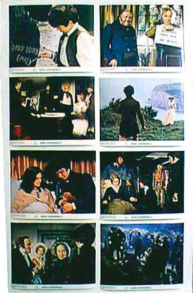 Original 8 x 10  Movie Lobby Card Set David Copperfield