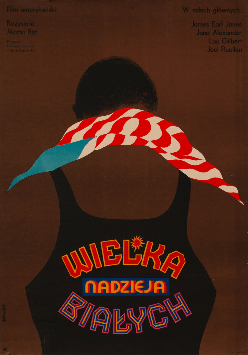 The Great White Hope Polish Release Movie Poster