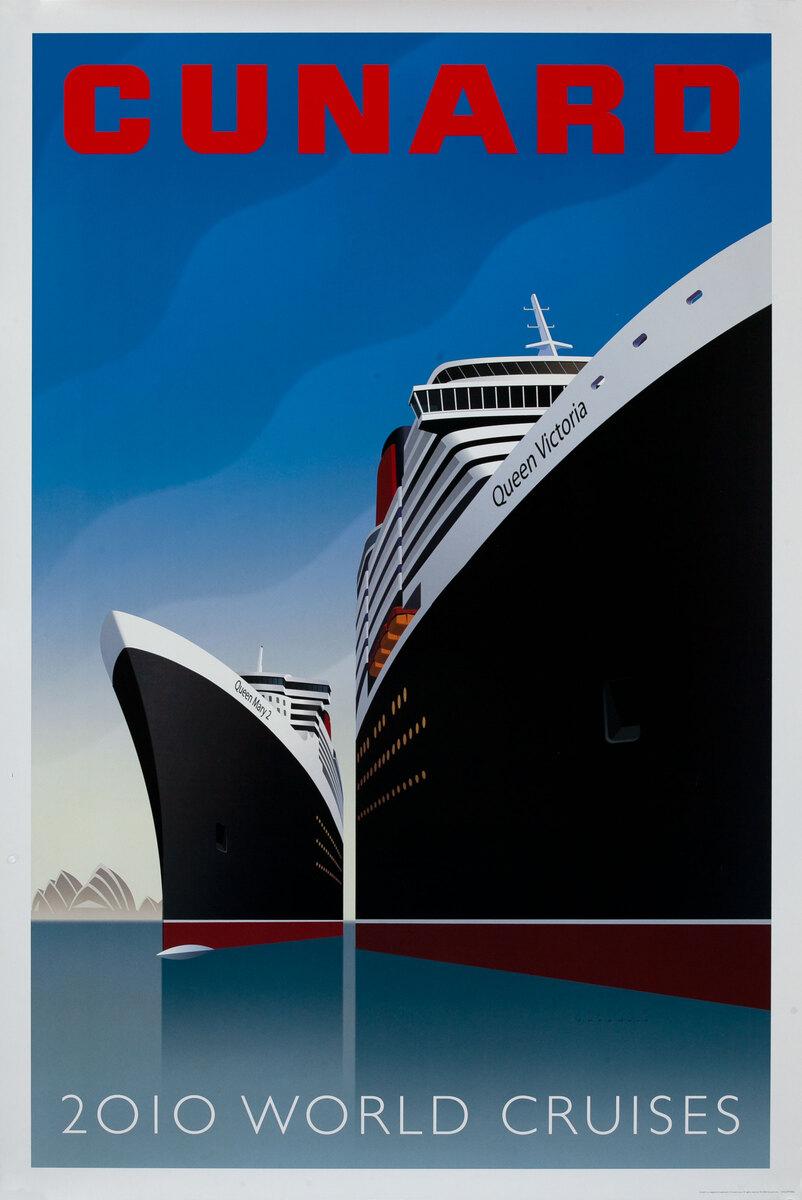 Cunard 2010 World Cruises Queen Mary2 - Queen Victoria