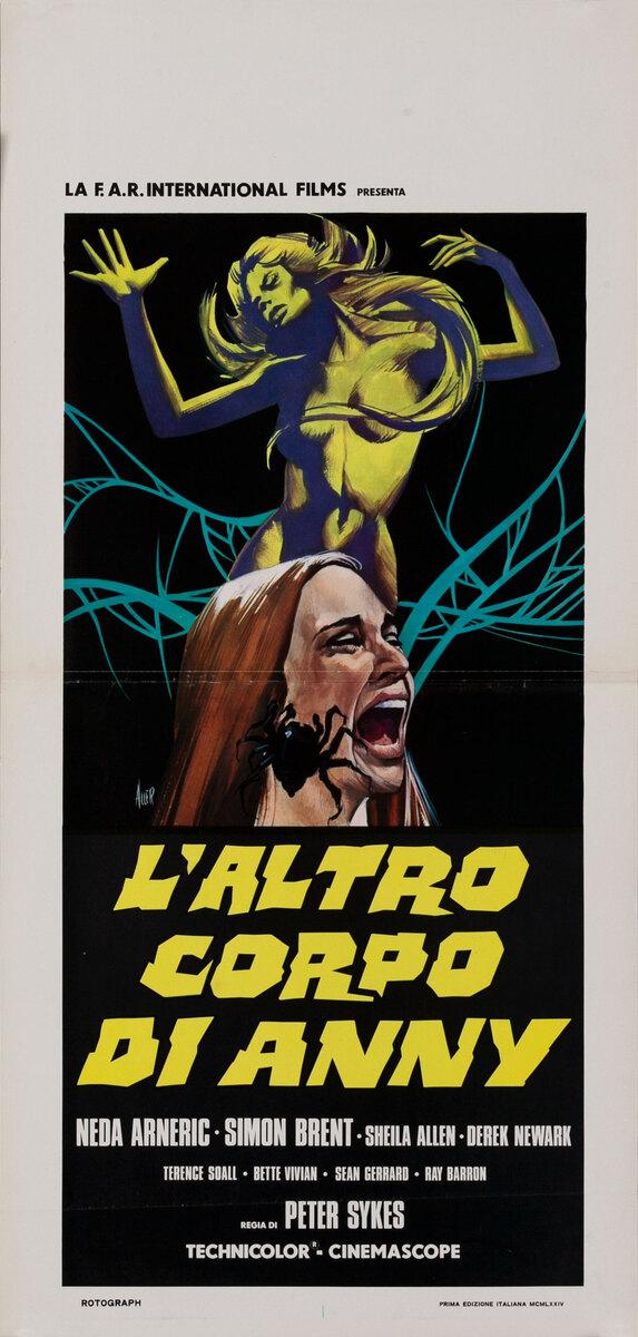 L'Altro Corpo Di Anni - The Legend of Spider Forest Italian Release Movie Poster