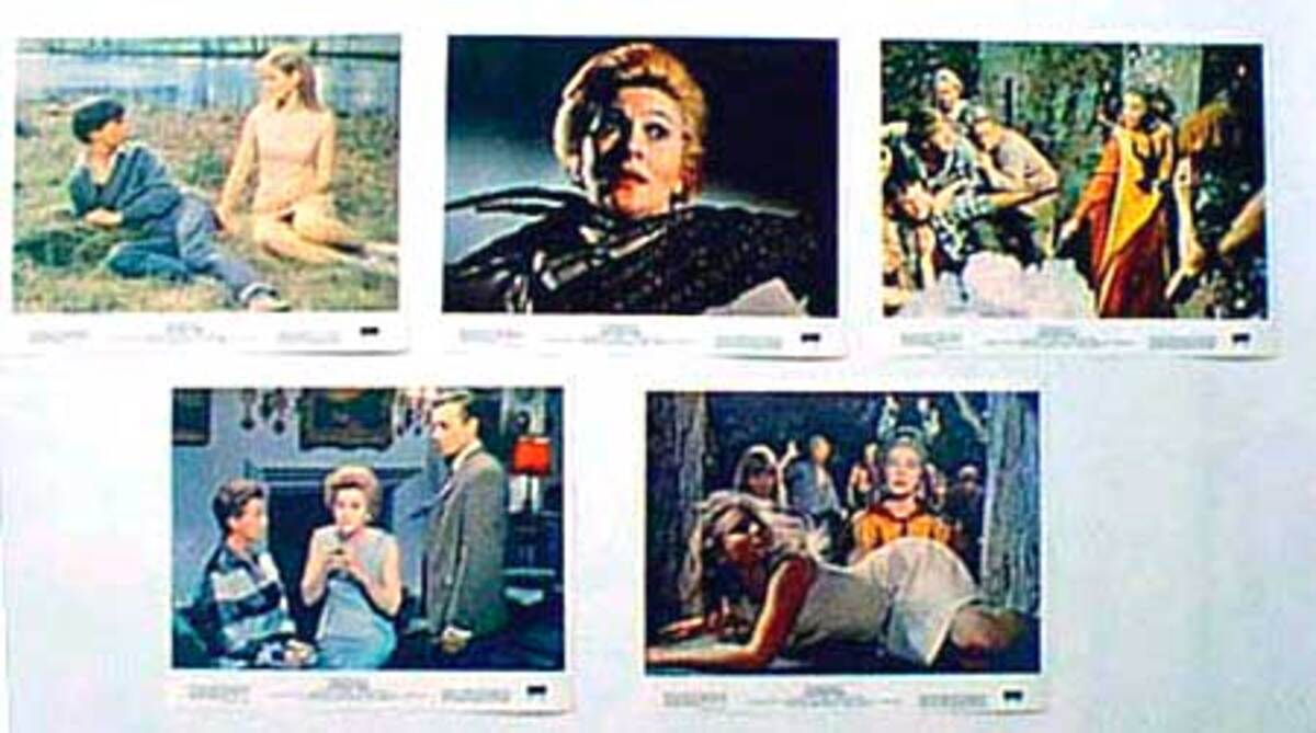 Original 8 x 10  Movie Lobby Card Set The Devils Own aka The Witches