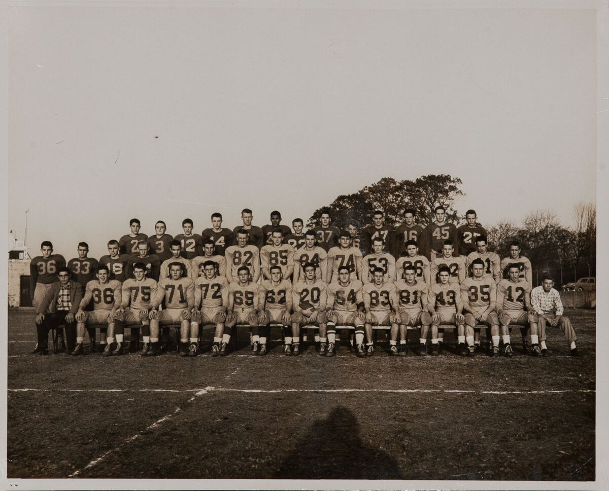 Dupont High School Football Team Photo