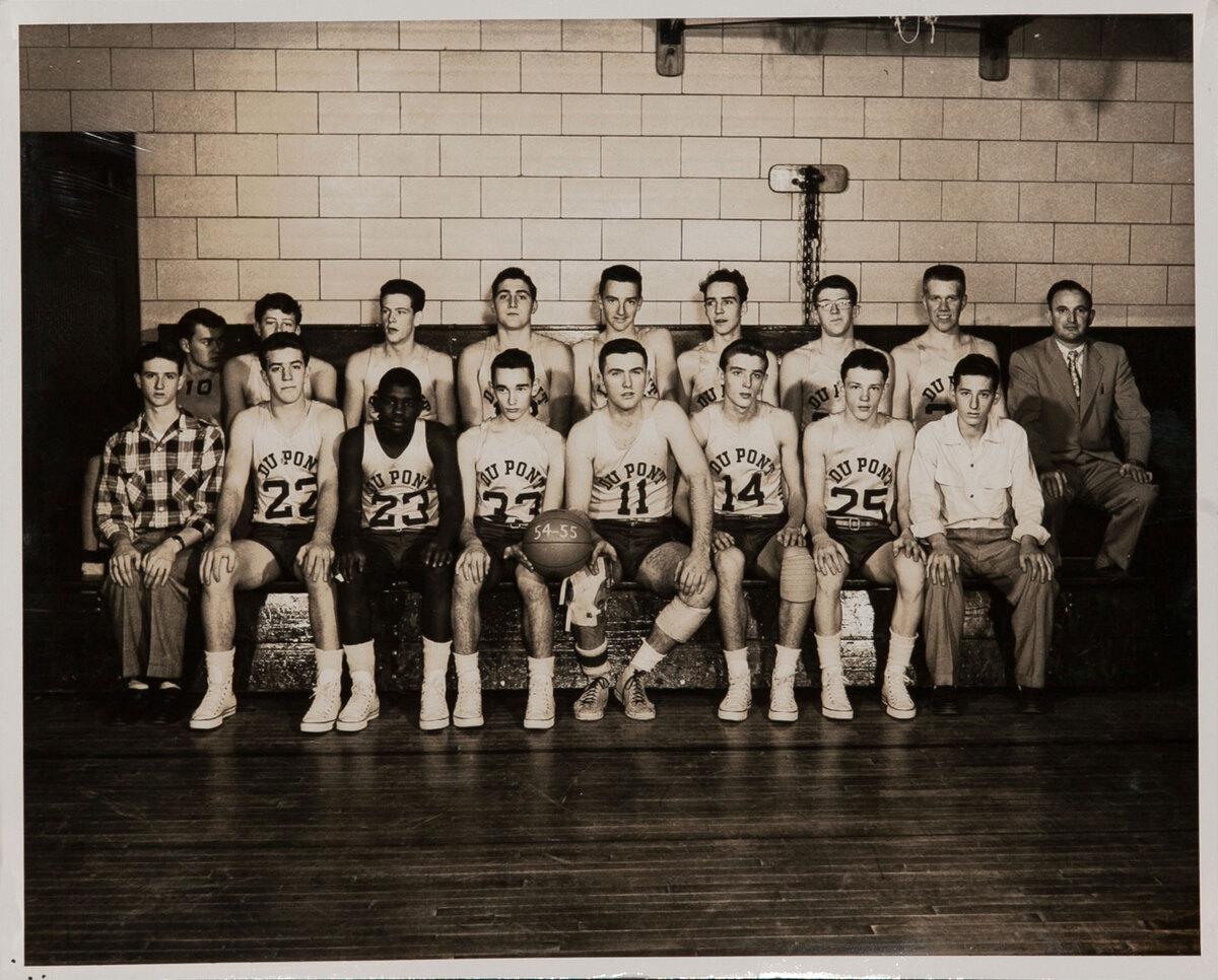 Dupont High School Basketball Team Photo