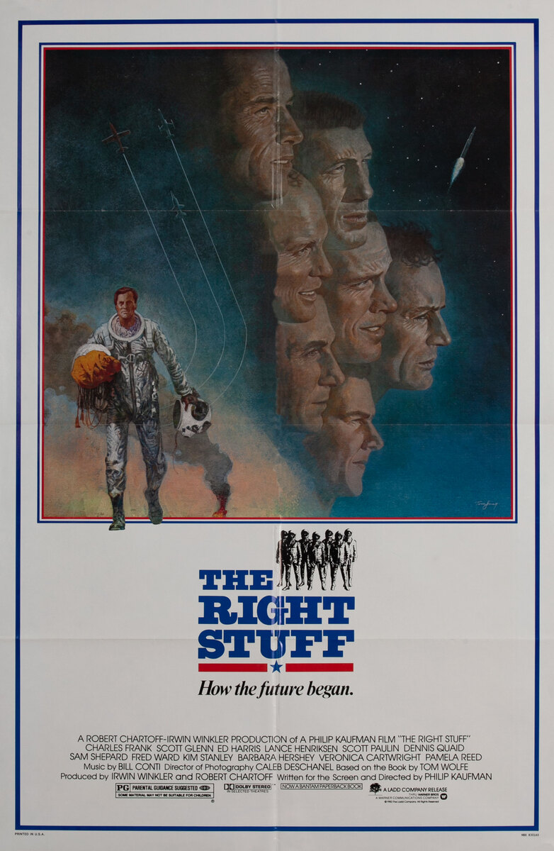 The Right Stuff 1 Sheet Movie Poster