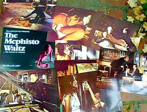 Original 11 x 14 Movie Lobby Card Set Mephisto Waltz