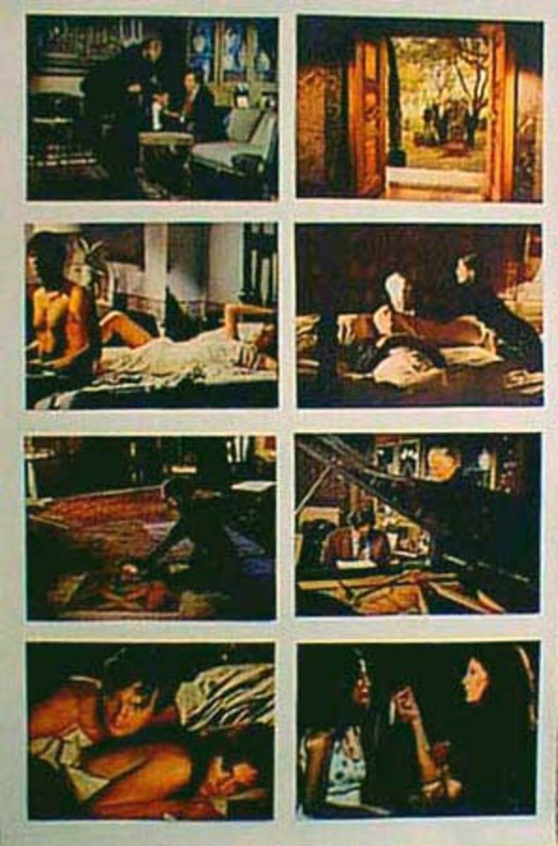 Original 8 x 10  Movie Lobby Card Set Mephisto Waltz