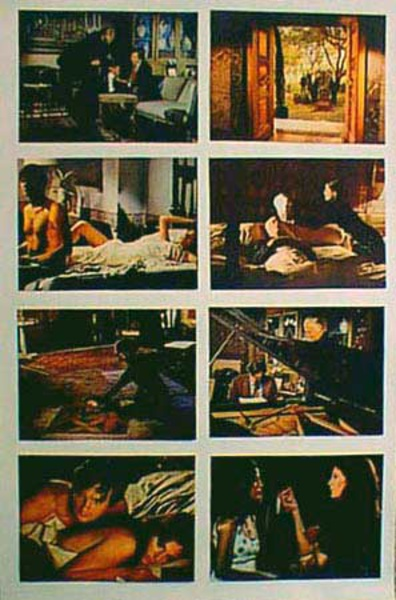 Original 8 x 10  Movie Lobby Card Set Mephisto Waltz