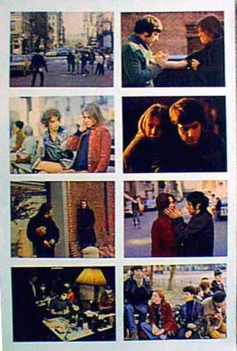 Original 8 x 10  Movie Lobby Card Set Panic in Needle Park