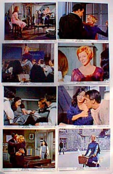 Original 8 x 10  Movie Lobby Card Set The Prime of Miss Jean Brodie