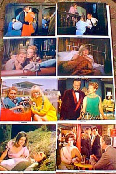 Original 8 x 10  Movie Lobby Card Set Prudence and The Pill