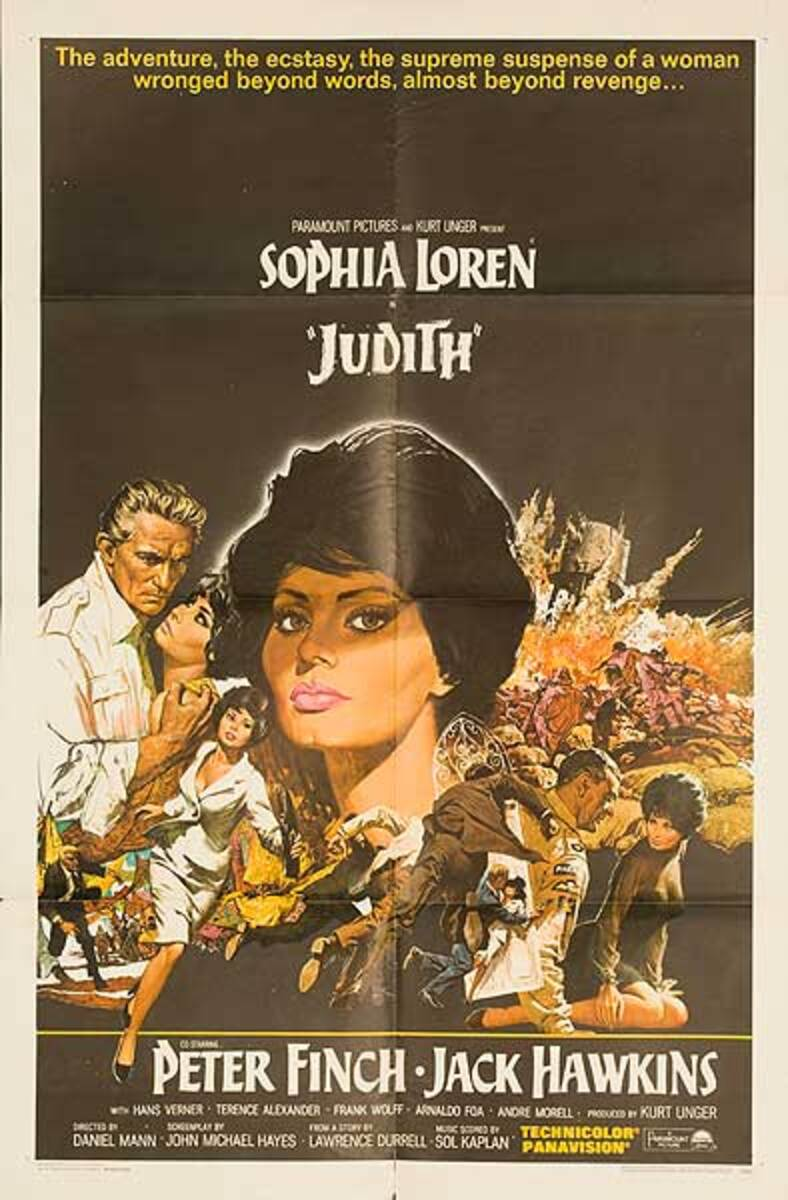 Judith Original Movie Poster
