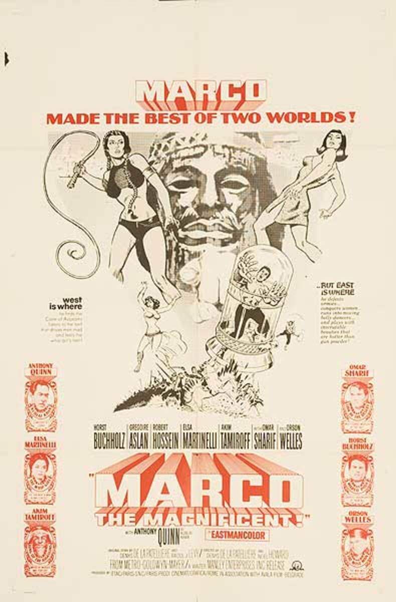 Marco The Magnificent Original Movie Poster
