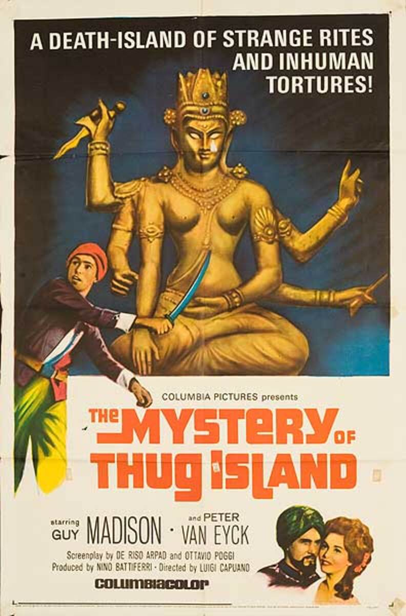 Mystery of Thug Island Original Movie Poster