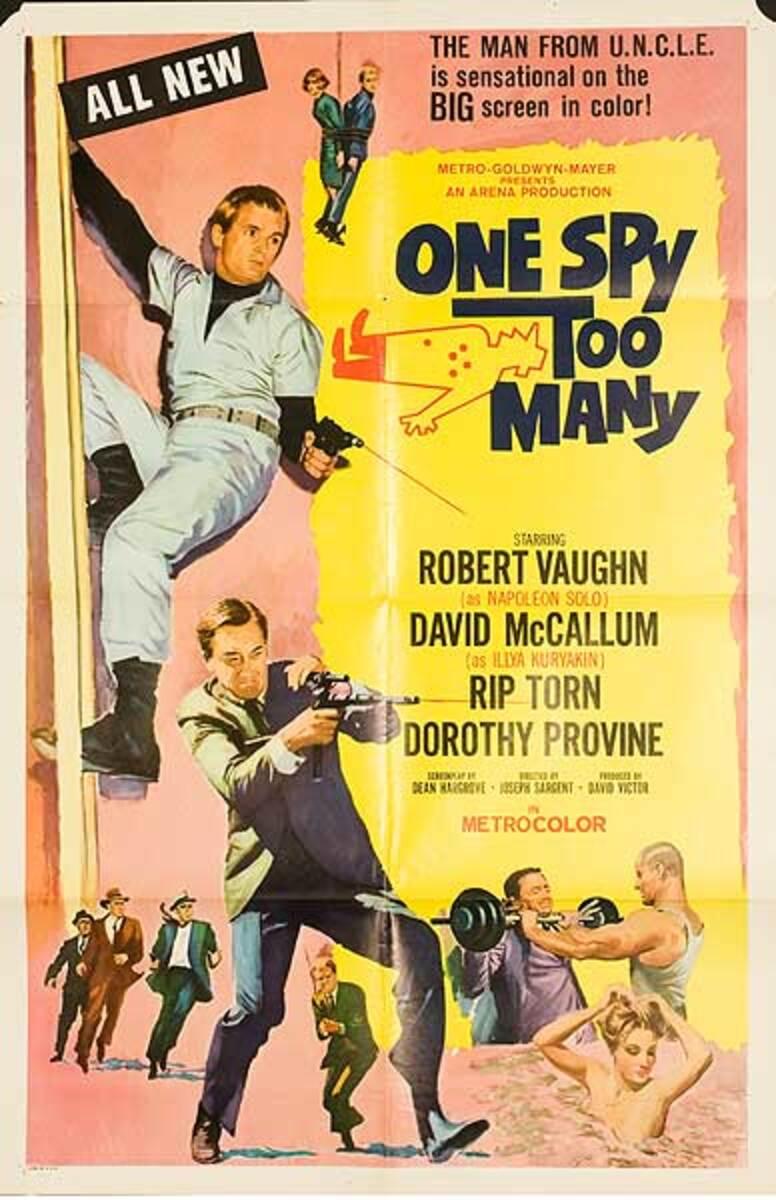 One Spy Too Many Original Movie Poster
