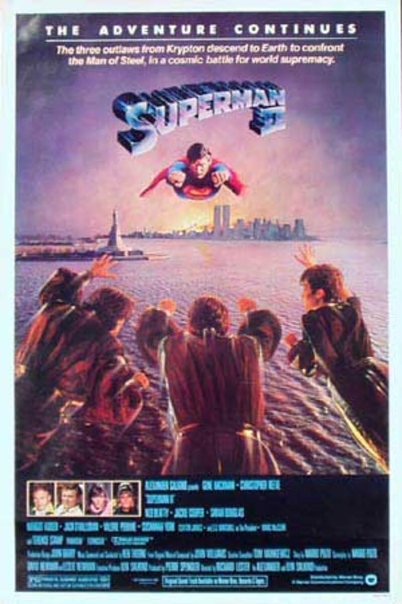 Superman II Original Vintage Movie Poster