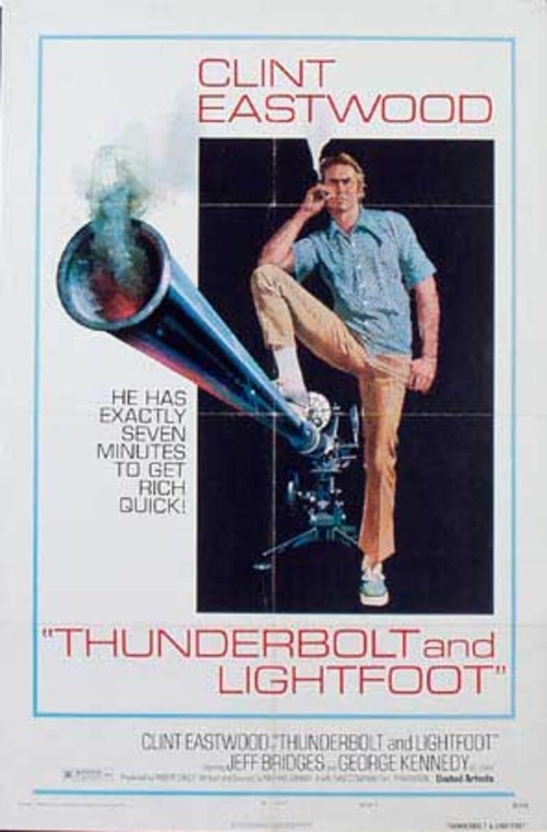 Thunderbolt and Lightfoot Original Vintage Movie Poster