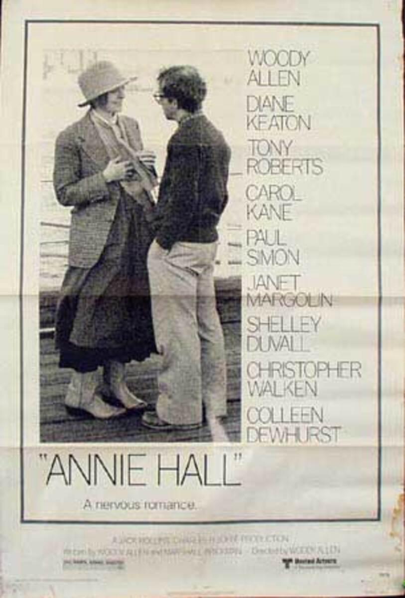 Annie Hall Original Vintage Movie Poster
