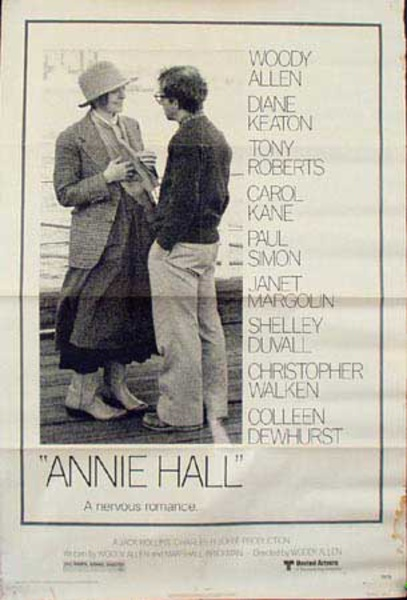Annie Hall Original Vintage Movie Poster