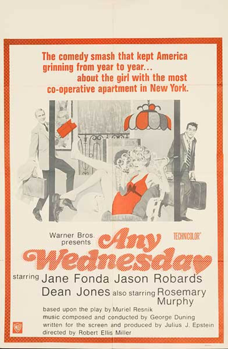 Any Wednesday Original Movie Poster