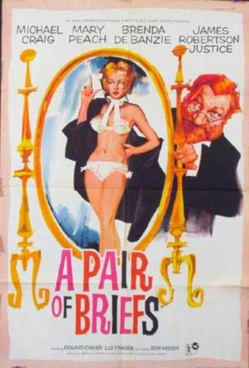 A Pair of Briefs Original Vintage Movie Poster