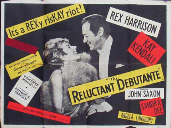 The Reluctant Debutant Original Vintage Movie Poster