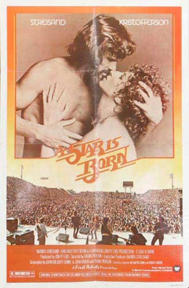 A Star is Born Original American Movie Poster