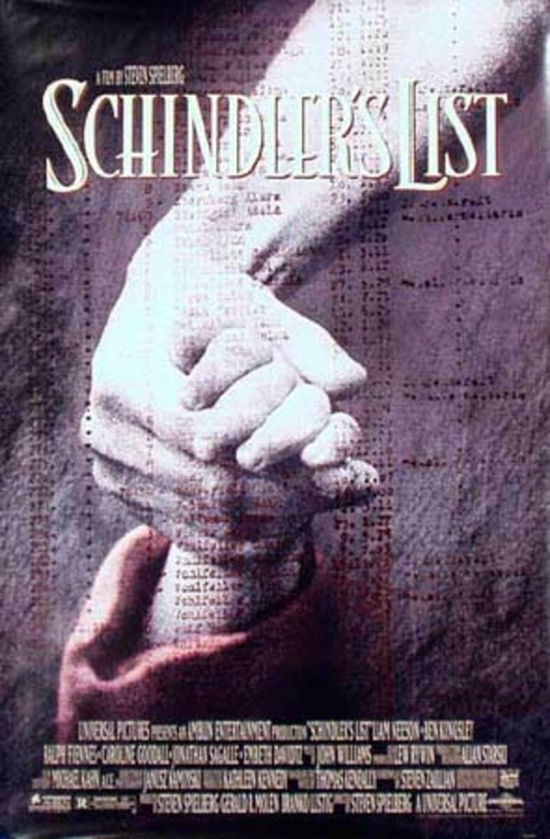 Schindler's List Original Vintage Movie Poster