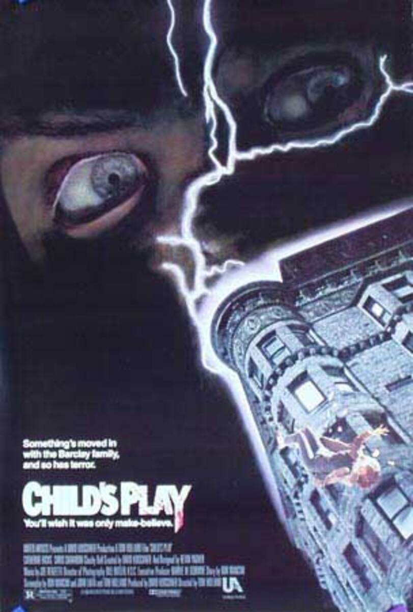 Child's Play Original Vintage American Movie Poster