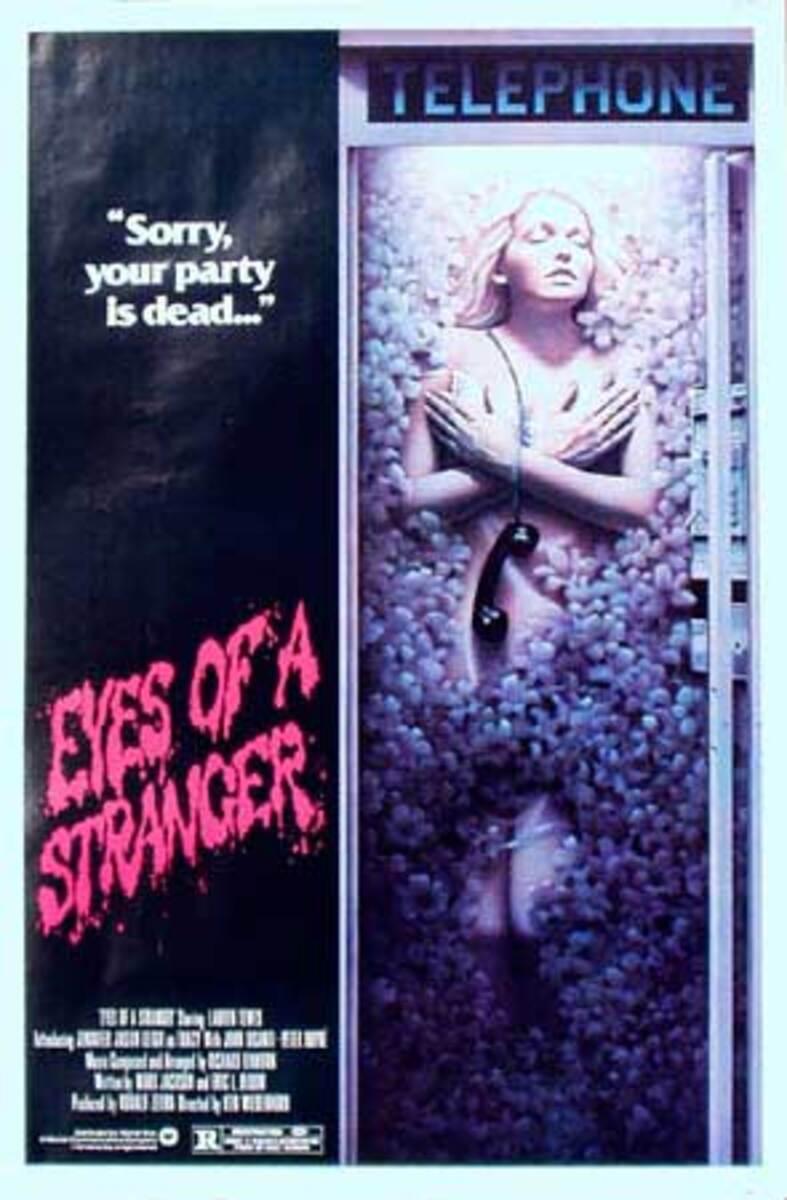 Eyes of a Stranger Original Vintage Movie Poster
