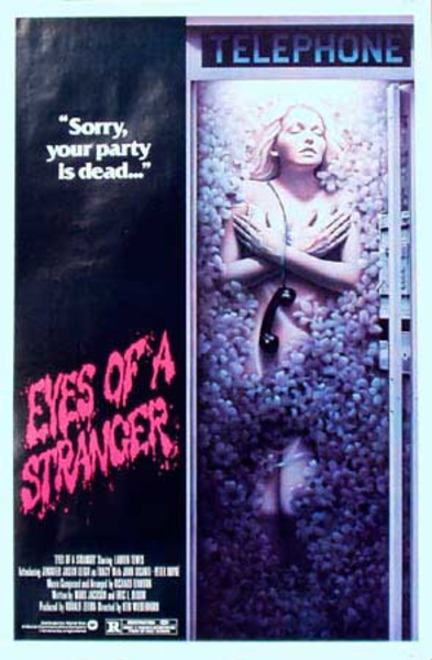 Eyes of a Stranger Original Vintage Movie Poster