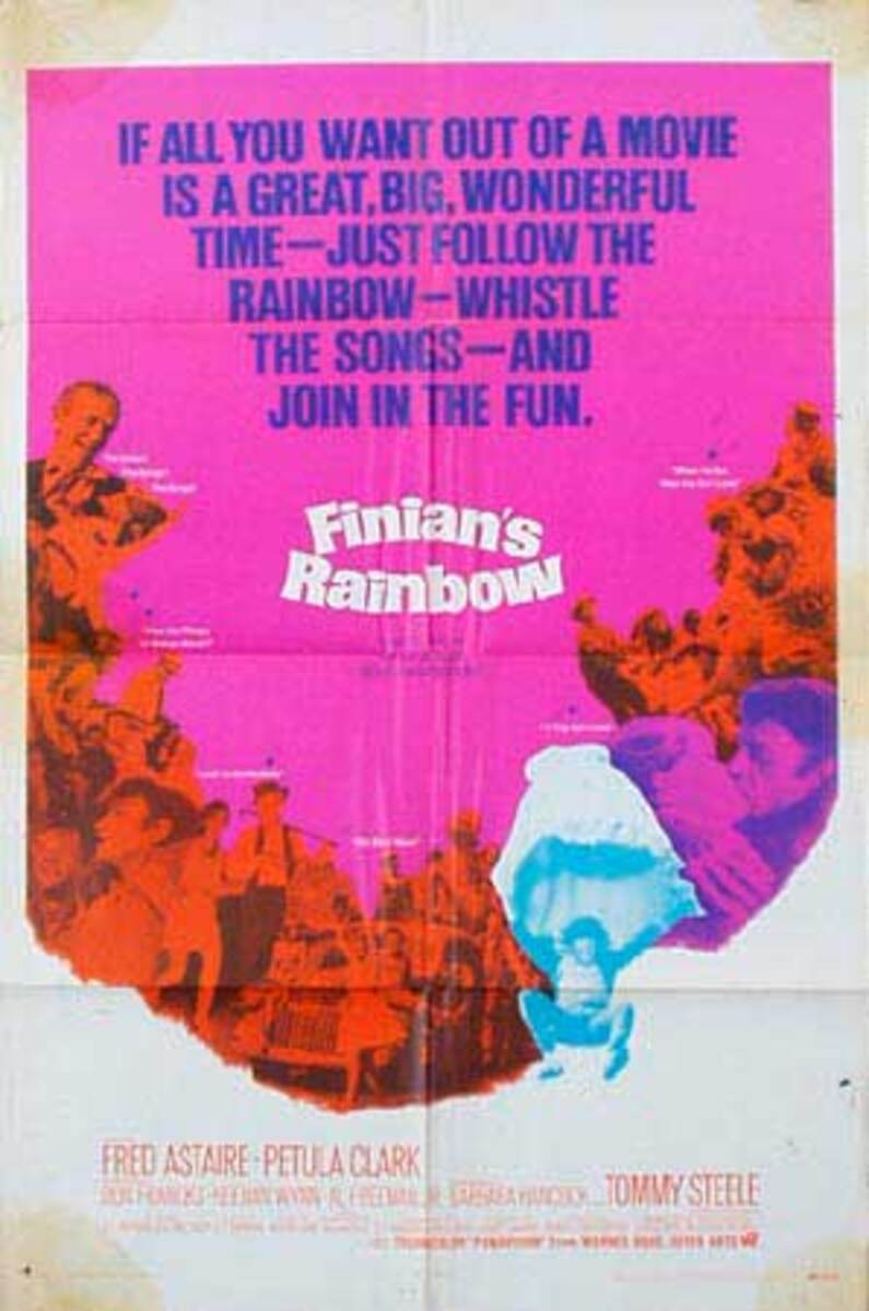 Finians Rainbow Original Vintage Movie Poster