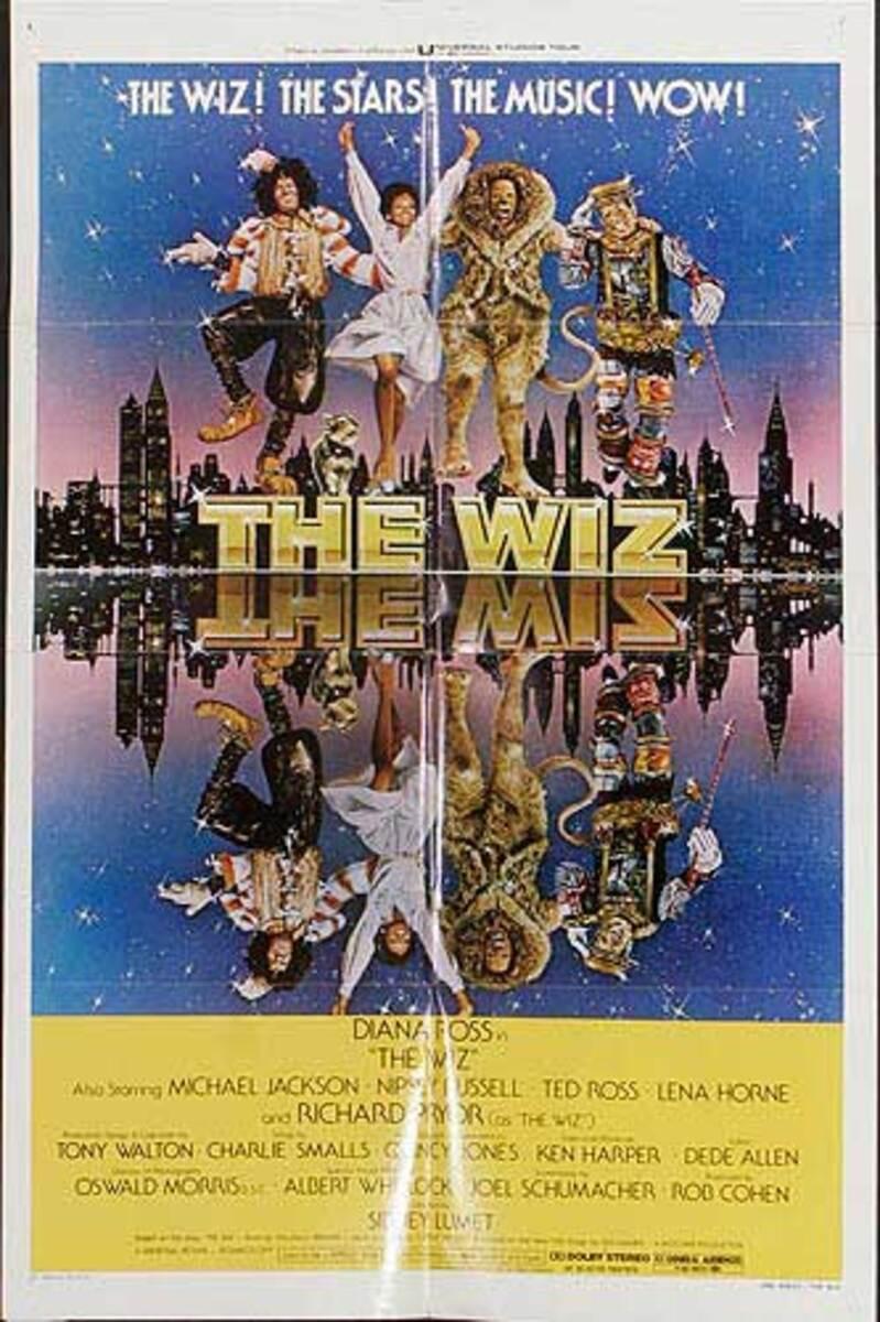 The Wiz Original Musical Movie Poster