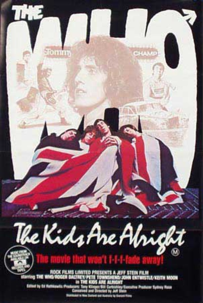 The Who Kids Are Alright Original Vintage Movie Poster