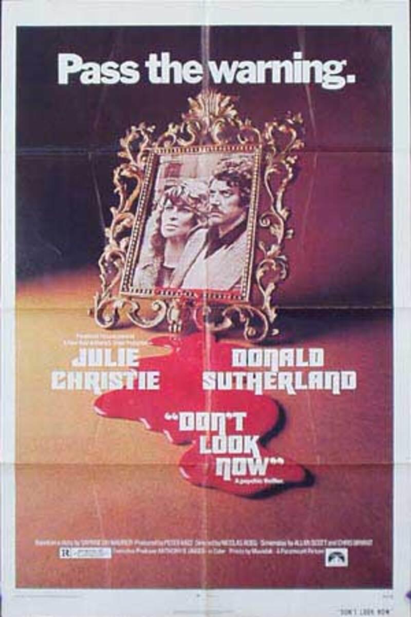 Don't Look Now Original Vintage Movie Poster