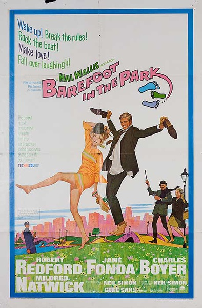 Barefoot in The Park Original American 1 Sheet Movie Poster