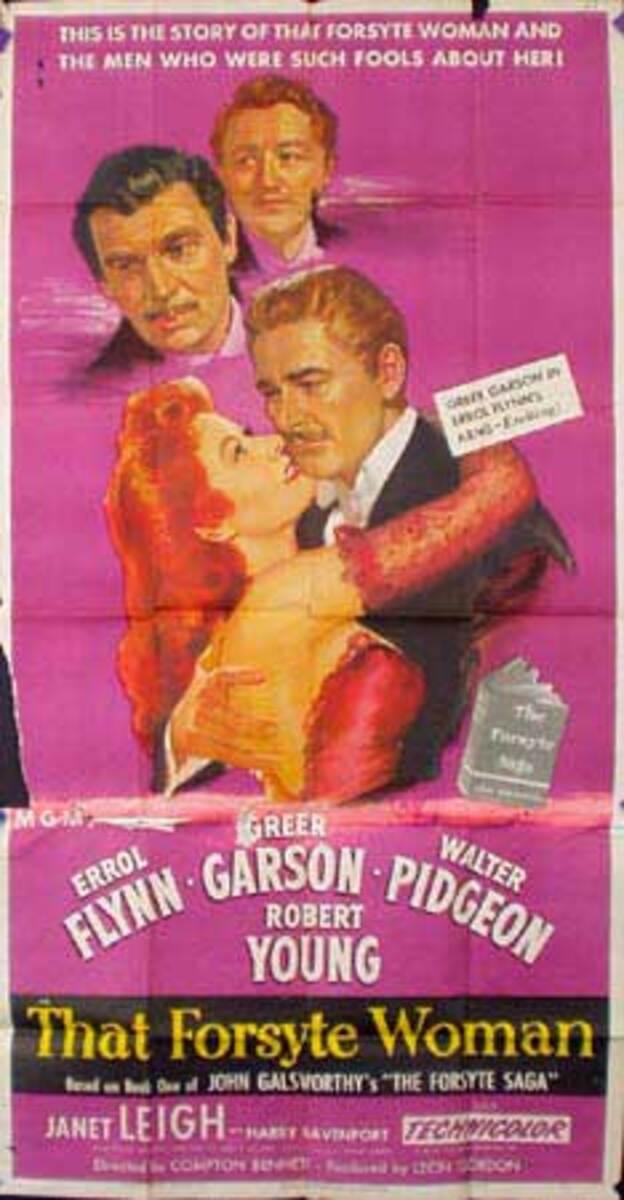 That Forsyte Woman Original Vintage Movie Poster