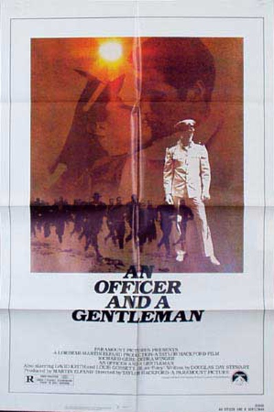 An Officer and a Gentleman Original Vintage Movie Poster
