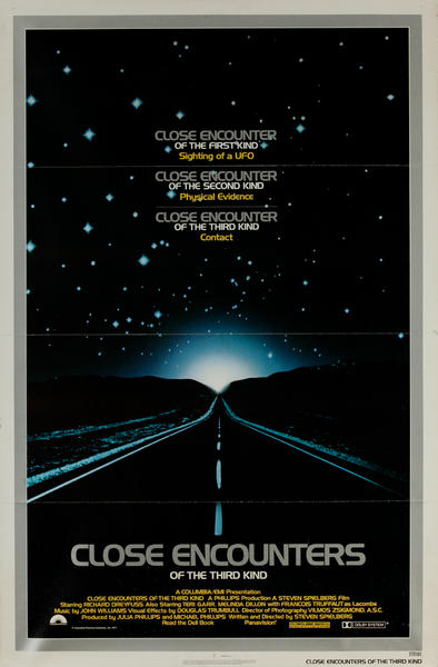 Close Encounters of the Third Kind Original Vintage Movie Poster