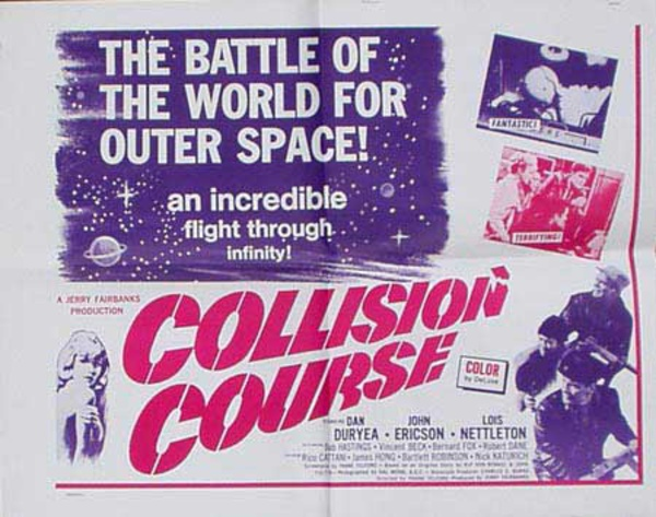 Collision Course Original Vintage Movie Poster