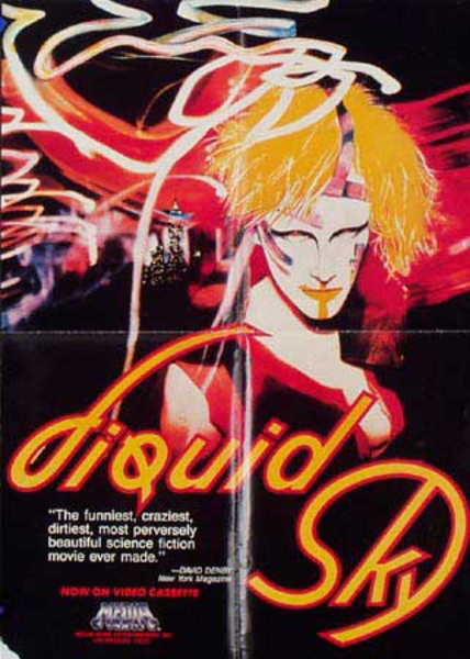 Liquid Sky Original Vintage Movie Poster video release