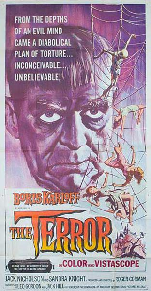 The Terror Original Sci Fi Horror Movie Poster