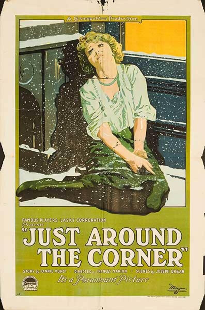 Just Around the Corner Original Silent Movie Poster